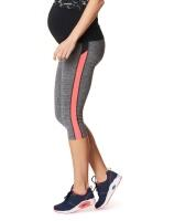 3/4-Umstands-Sportleggings Fleur aus der Noppies Activewear - grau