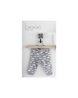 BEES Boy or Girl Hose, Pants Unisex Cloud-Grey BS1013 - grau