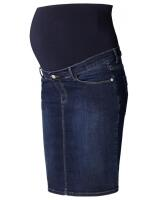 Esprit Maternity Umstandsrock Jeans mit faded Waschung - blau