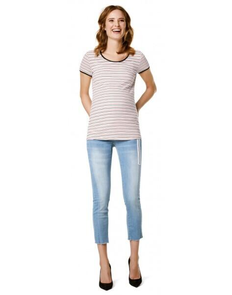 Supermom 7/8 Umstandsjeans Skinny 7/8 Light Blu